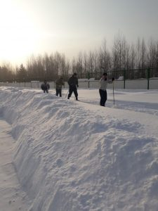соревнования ао лыжам